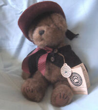 "Boyds Plush Collectible Teddy Bear Brown Fur 10"" tall - Madeline Willoughby"