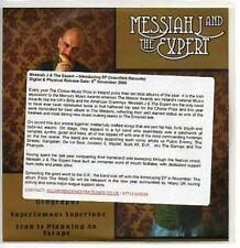 (AA80) Messiah J & The Expert, Introducing EP - DJ CD