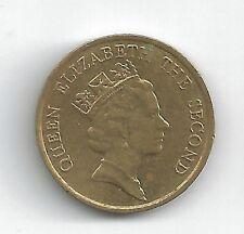 HONG KONG  VINTAGE 1988 TEN CENT COIN - NICE CONDITION