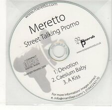 (EH695) Meretto, Devotion / Caesium Baby - 2009 DJ CD