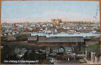 1907 NY Postcard: Bird's Eye View of Albany, New York