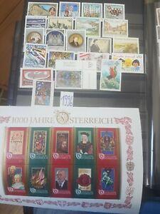 Austria Osterreich 1996 complete year MNH