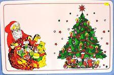 Santa and Christmas Tree Placemat