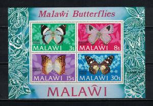 Malawi 1973: #202a Butterflies SS NH:Lot#4/13
