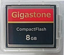 Dane-Elec/Gigastone 8GB Compact Flash Memory for Canon EOS 300D 350D 10D 20D