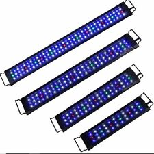 12 18 24 30 36 48 72 Led Smd Multi Color Aquarium Fish Tank Light Extendable