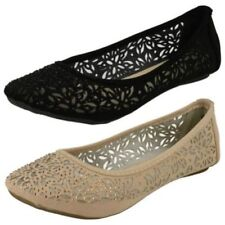 Ballet Flats Slip On Floral Shoes for Women