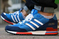 adidas Originals Mens ZX 750 Trainers Bluebird/Blue/Navy/Red/White/ All Sizes