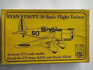 HIGH PLANES Ryan STM/PT-20 Basic Flight Trainer 1/72 Scale