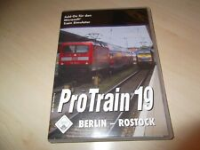 PROTRAIN 19 BERLIN - ROSTOCK ~ MICROSOFT TRAIN SIMULATOR ADD-ON