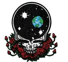 """Grateful Dead Space Your Face Iron On Patch 4"""" x 3 1/2"""" Free Ship Licensed P1227"""