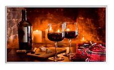 300W Infrarotheizung Wein Käse Thermostat Elektroheizung Überhitzungsschutz TÜV