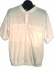 MEMBERS ONLY WHITE CASUAL GOLF SHIRT EXTRA LARGE MEN'S XL, 1X