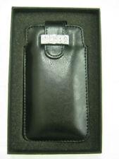 Fundas y carcasas lisos Universal color principal negro para teléfonos móviles y PDAs