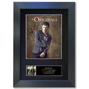 THE ORIGINALS Joseph Morgan Signed Mounted Autograph Photo Prints A4 850
