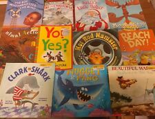 Lot of 10 Scholastic MIX Classroom Teacher Reading Large Kids RANDOM Books K-5