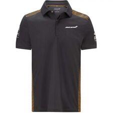 McLaren F1 Grey Team Polo Shirt 2021