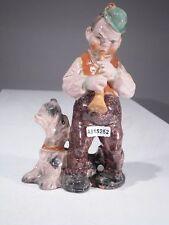 +# A015252 Goebel Archiv Muster Cortendorf Ur-Figur Mann, Flöte und Terrier 285