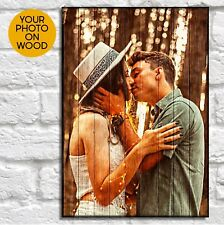 Personalised Gift For Him Birthday Gifts For Her Picture On Wood Photo Gifts