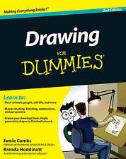 Drawing For Dummies (For Dummies (Sports & Hobbies))-ExLibrary