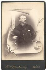 Cabinet Card Funeral Card #2
