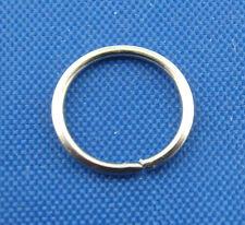 600PCs Silver Tone Open Jump Rings 8mm Dia. SP0009