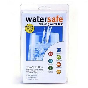 Drinking Water Home Testing Kit All-in-One 8 Tests One Kit