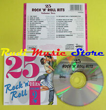 CD 25 ROCK AND ROLL HITS VOLUME 2 compilation CHECKER LITTLE RICHARD ANGELS (C6)