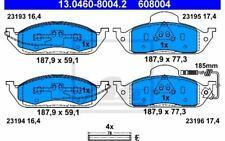 4x ATE Plaquettes de Frein Avant pour MERCEDES-BENZ CLASSE M 13.0460-8004.2