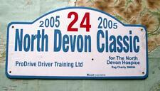 Old Vintage Car Mascot Badge : North Devon Classic Car Rally No. 24
