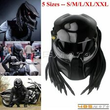 5 Size Motorcycle Predator Carbon Fiber Helmet Full Face Iron Warrior Man Helmet