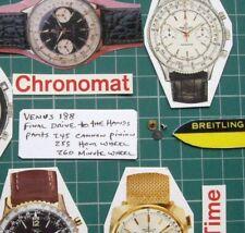 #245 + 255 + 260 Venus 188 Val 7730-33. Breitling toptime Sprint Chronomat 808