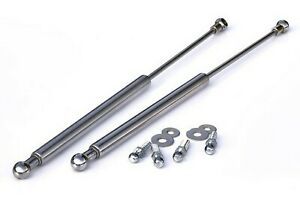 Fits for VW Golf MK3 3 Cabrio Chrome Bonnet Hood Gas Lifter Lifts Dampers Struts