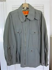VINTAGE DISEL JACKET UTILITY WORKER STYLE 100% COTTON. SIZE XL. ONLY 862 MADE