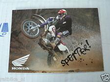 HONDA SPETTER XR400 MOTO73  POSTCARD MOTO73