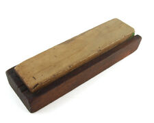 "Vintage Belgium Coticule Natural Sharpening Stone in Half Box - 7"" x 1-3/4"""