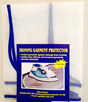 Ironing Garment Cover - iron cloth protector for protection of delicate fabric