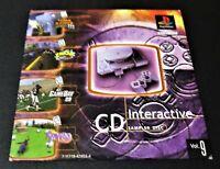 1998 Interactive CD Demo Sampler Disc Vol 9 Sony PS1 PlayStation 1