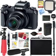 Canon PowerShot G1 X Mark III Digital Camera + 64GB Memory & Microphone Bundle
