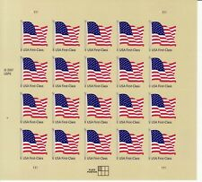 UNITED STATES FLAG STAMP SHEET -- USA #4130 FIRST CALSS MAIL 2007