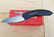 Snap-On Kershaw SO82 BLK Black Pocket Knife Wharncliff Blade USA Made Kai New