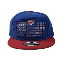 Superman Snapback Hat Designer Tian Feng NWOT Big Logo Universe Bill ** Rare