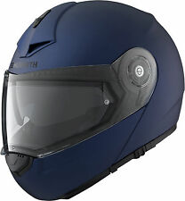 SCHUBERTH Klapphelm C3 PRO blau matt Helm Gr. M 56/57 Sonnenblende - STATT 599,-