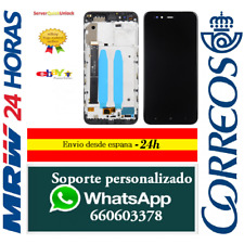 Pantalla Completa con Marco para Xiaomi Mi 5X / Mi A1 Negra Tactil + LCD Negro