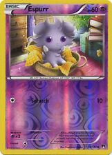 Espurr Common Reverse Holo Pokemon Card XY9 BREAKPoint 58/122