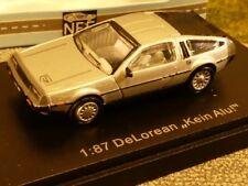 1/87 NPE DeLorean Rostfrei Elvis Car 88022