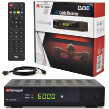 Opticum C100 Digital Kabelreceiver KABEL Receiver DVB-C HDTV SCART HDMI TV C 100