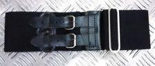 Cinturones de hombre sin marca color principal negro de lona