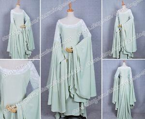 The Lord of the Rings Arwen Grün Kleid Cosplay Kostüm Hoch Qualität Elegant Neu
