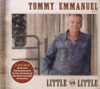 TOMMY EMMANUEL - LITTLE BY LITTLE 2 CD NEU